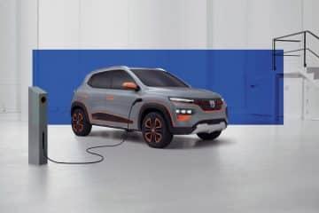 Dacia voiture électrique Spring