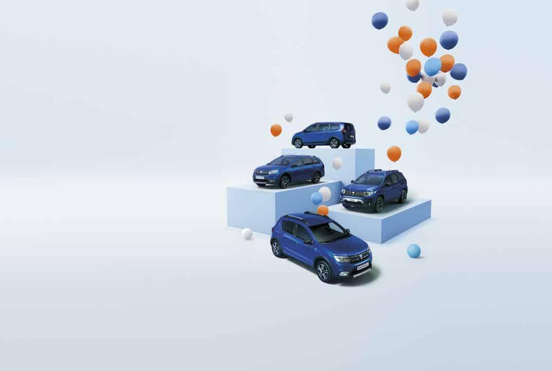 Dacia histoire 15 ans Europe