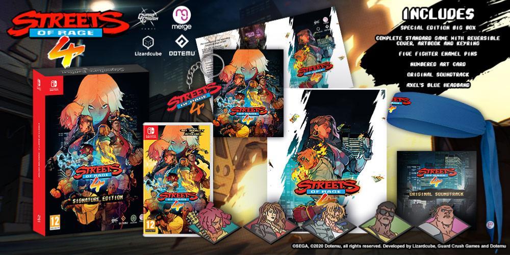 Streets Rage 4 PS4 Boite