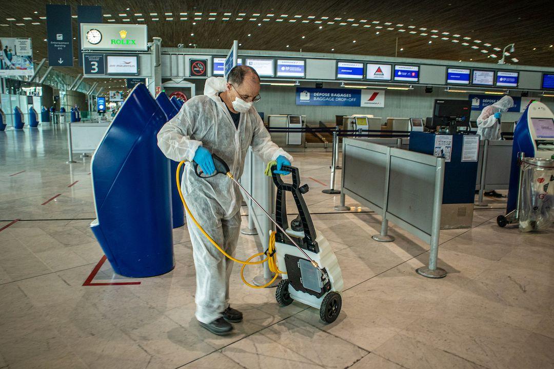 Camera thermique aeroport paris