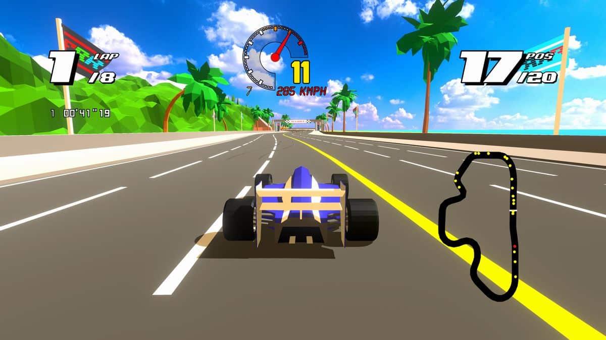 Test Formula Retro Racing Xbox One X