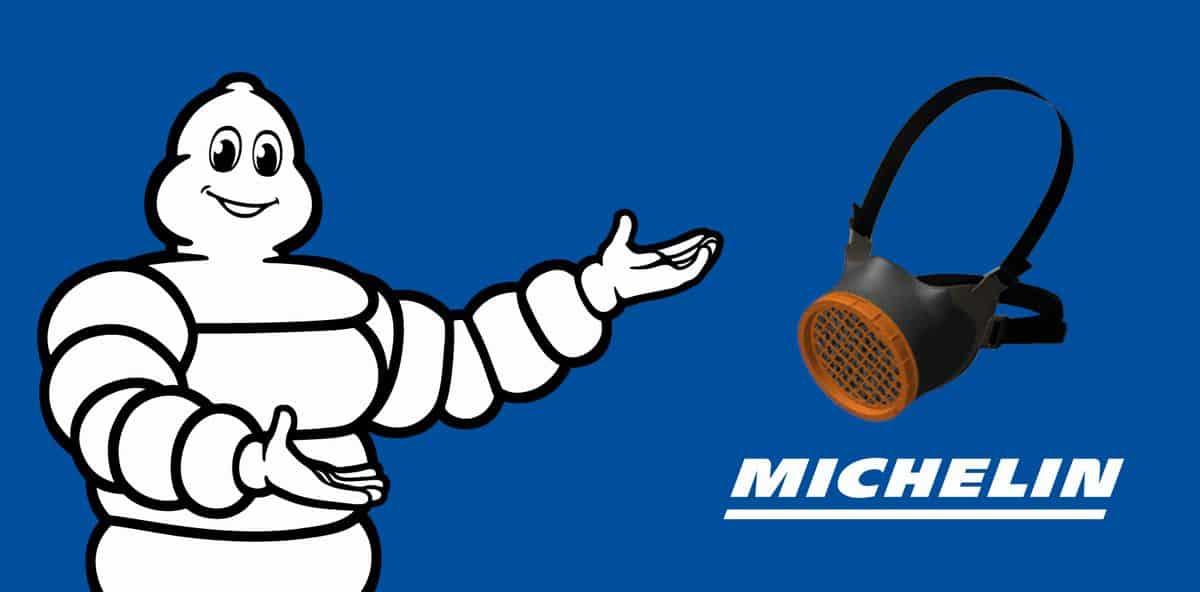 Michelin Logo Masque