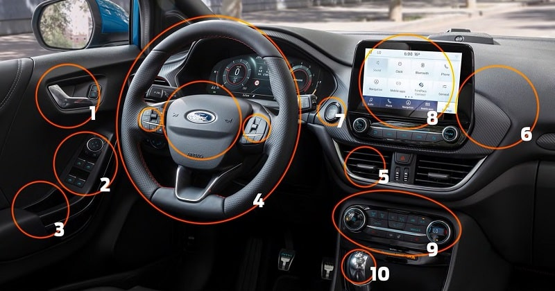 Ford Nettoyage Interieur