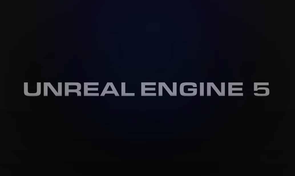 Unreal Engine 5 démo technique PS5