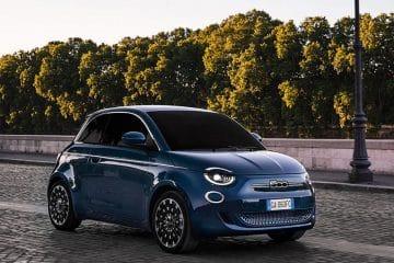 Nouvelle Fiat 500 électrique 2020