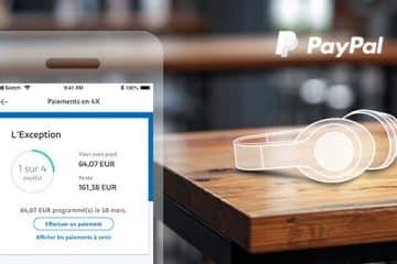 Paiement en 4 fois sur PayPal