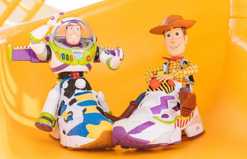 Reebok Pump Toy Story