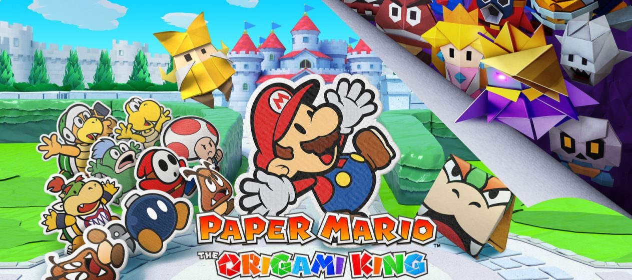 Test Paper Mario Origami King