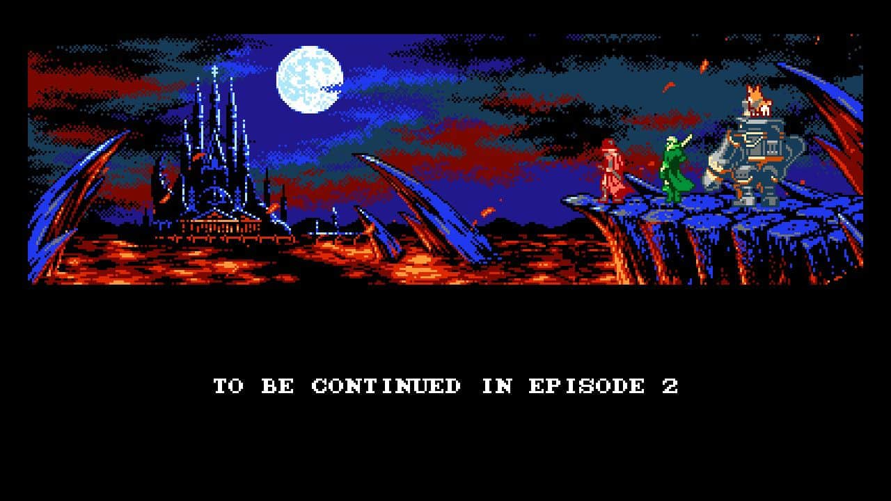 Test Bloodstained Curse for the Moon 2