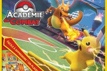 Jeu de plateau Pokémon Académie de Combat