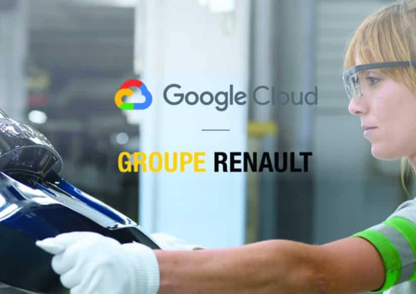 Renault Google Cloud