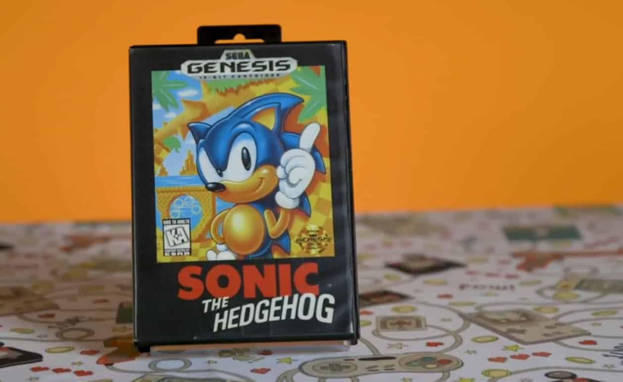 Sonic Genesis ESRB Version