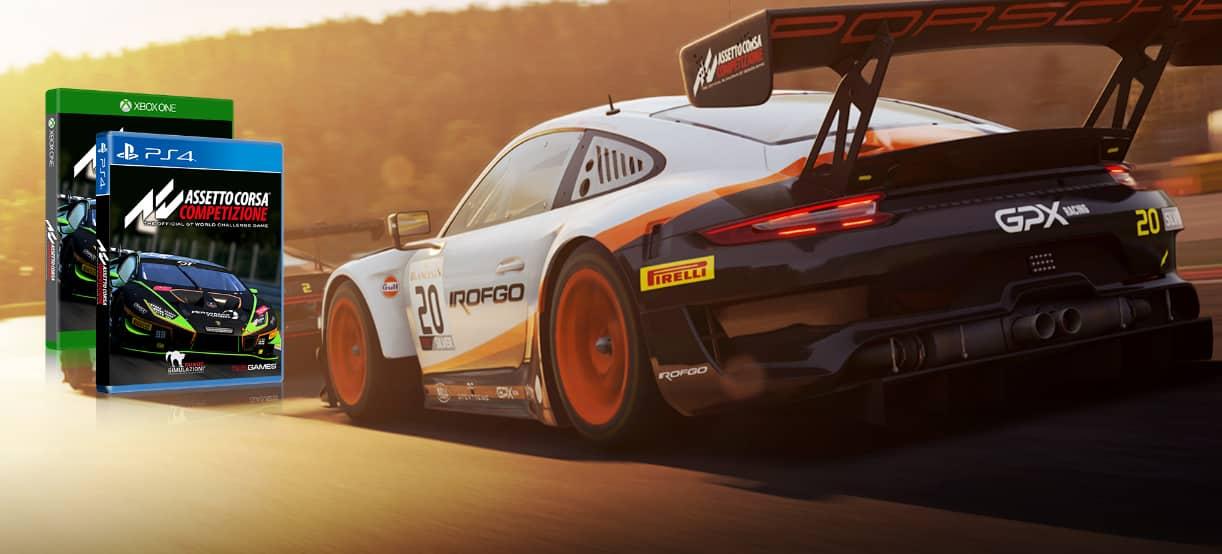 Test avis Assetto Corsa Competizione PS4 Xbox One X