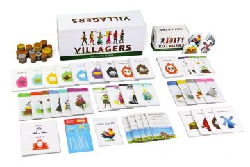 Test jeu de société The Villagers