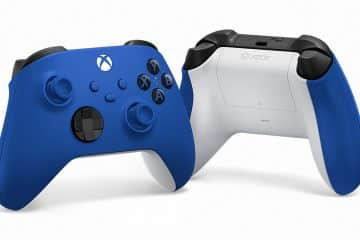 Manette Xbox Shock Blue Sonic