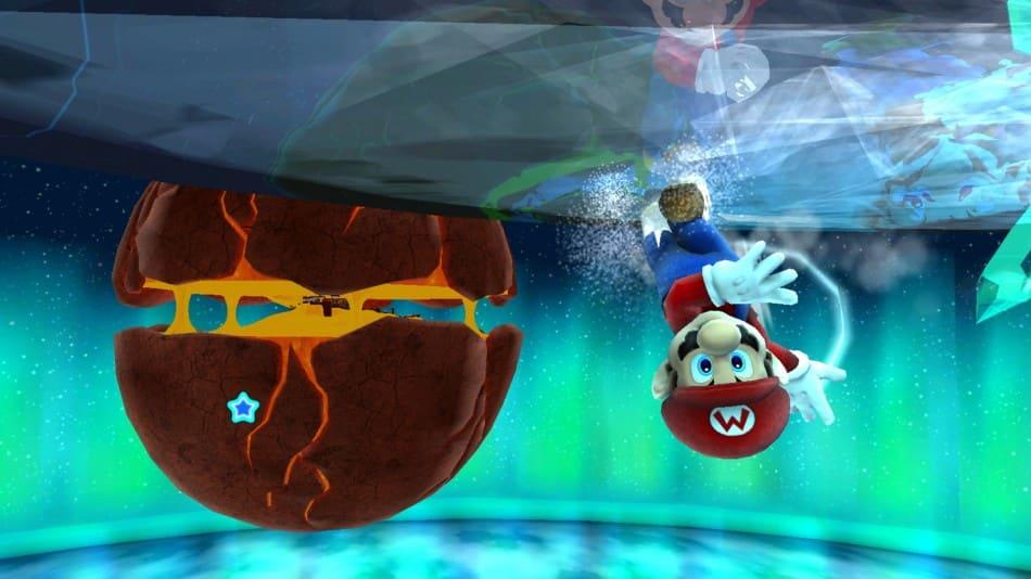 Mario Galaxy Switch Lite