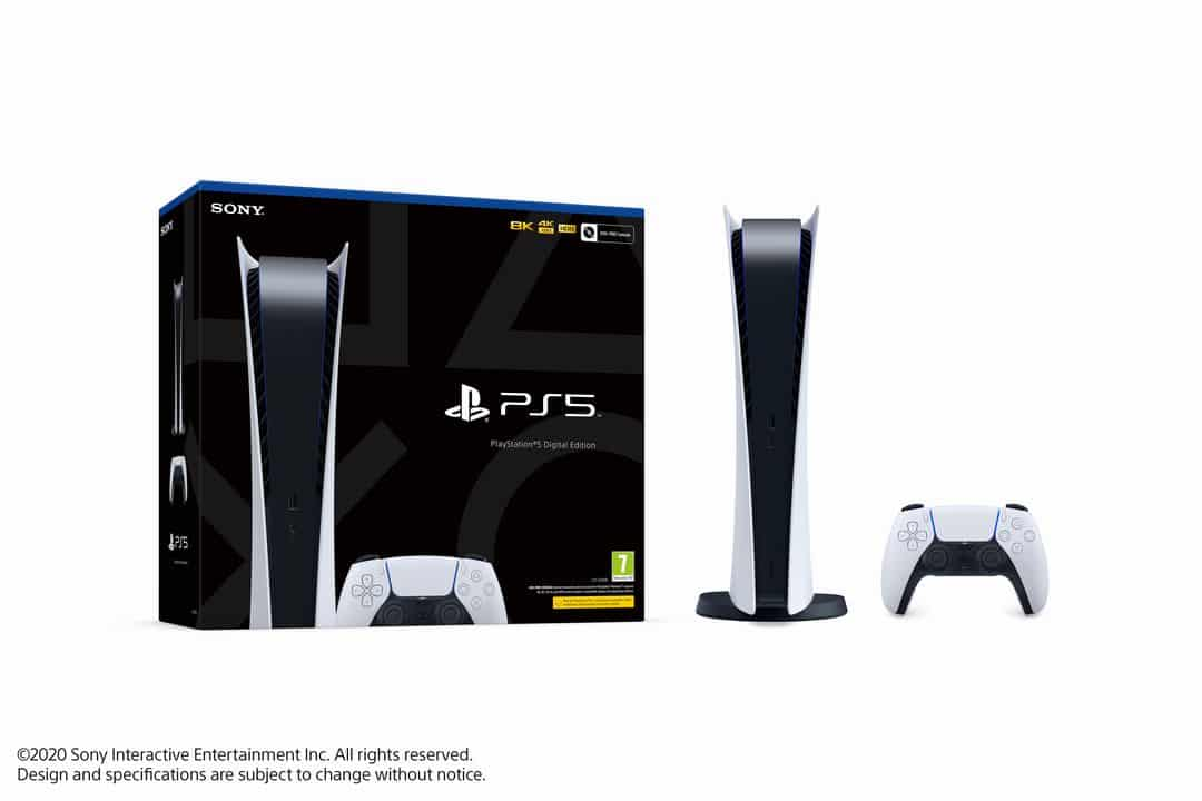 Boite Packaging PS5 Digital Edition