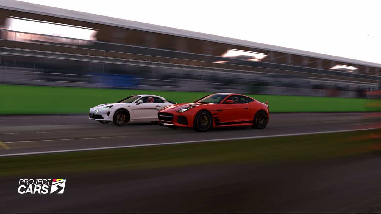 Test Project Cars 3