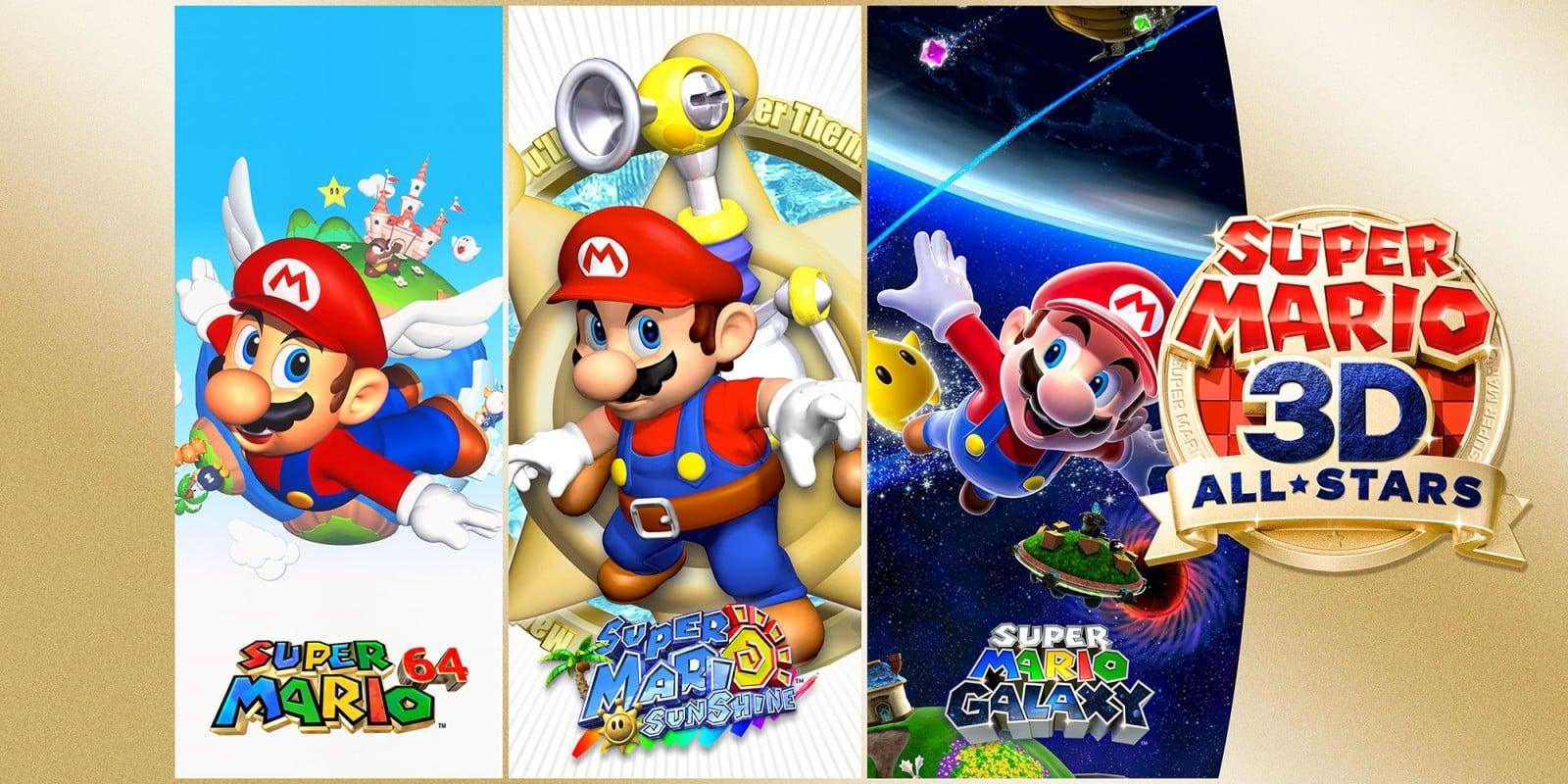 Super Mario 3D All-Stars annoncé, une disponibilité limitée — Nintendo Switch