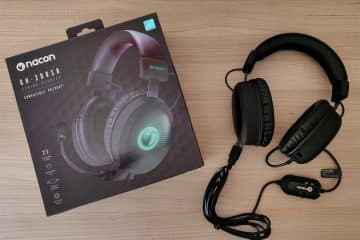 Test casque gaming Nacon GH-300SR