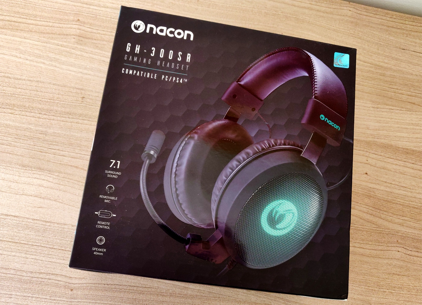 Test casque gaming Nacon GH-300SR