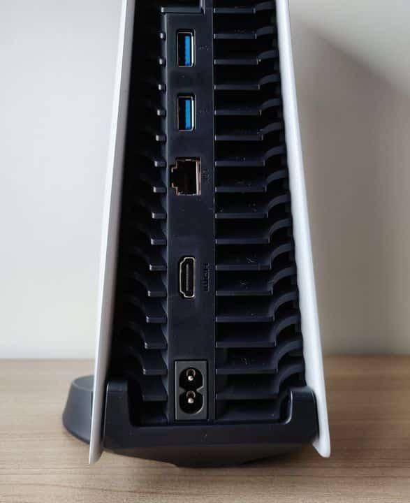 Test PS5 Connectique