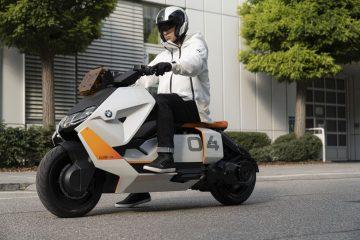 BMW Scooter électrique du futur