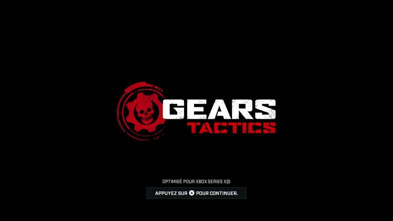 Test Gears Tactics Xbox Series X