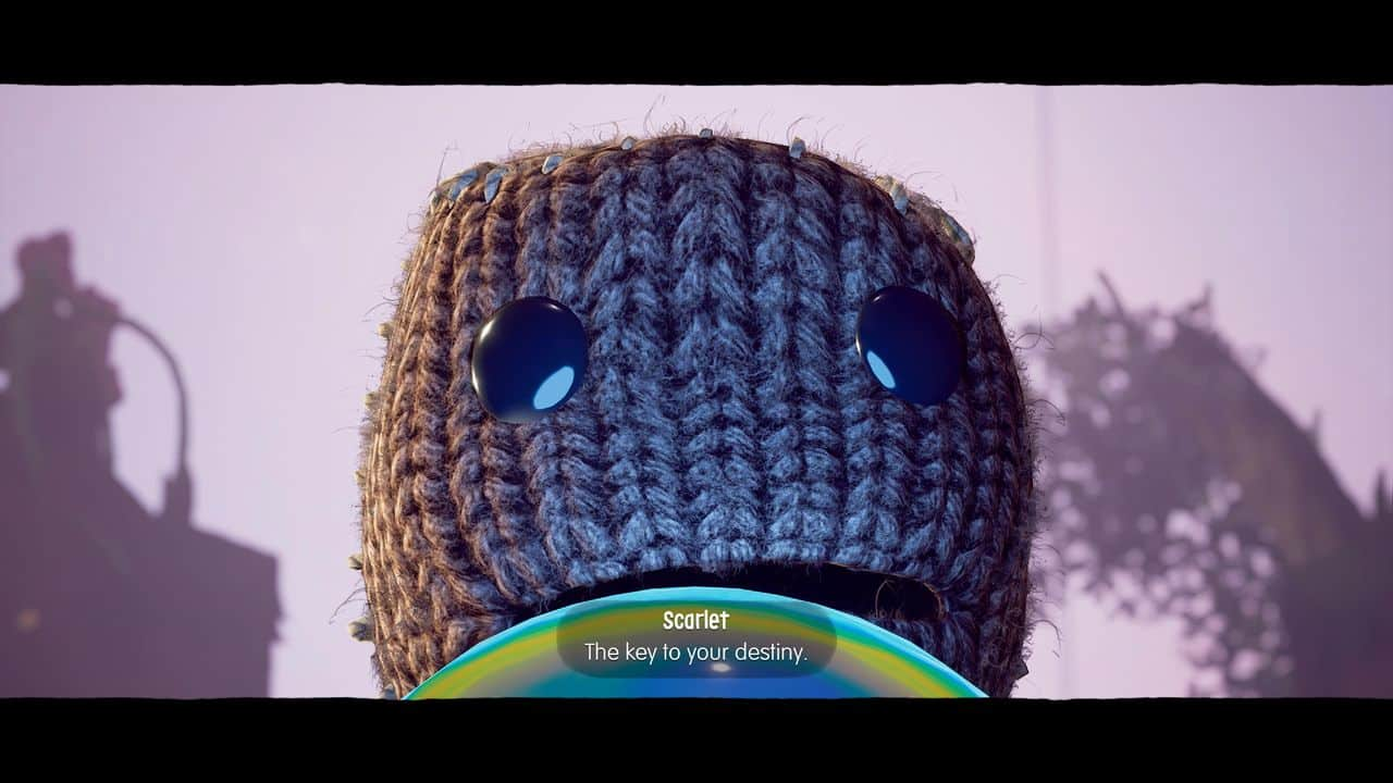 Test Sackboy PS5