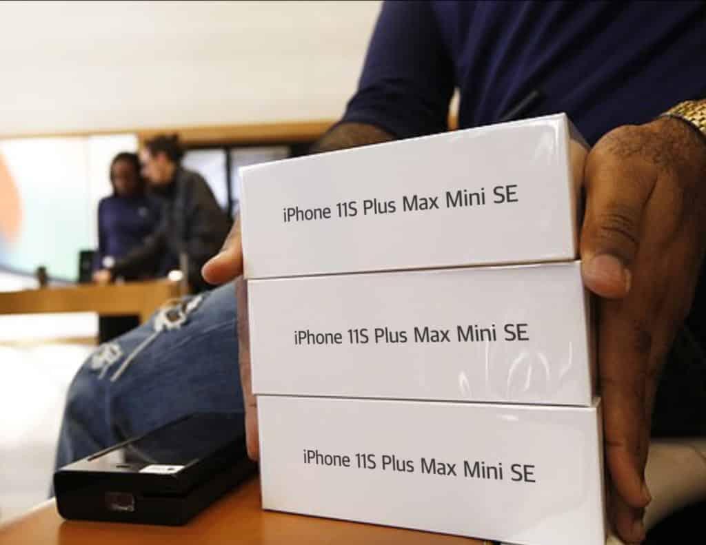 iPhone 11 S Plus Max Mini SE