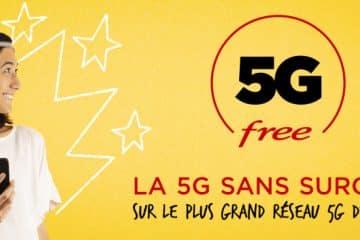 Prix Forfaits Free Mobile 5G
