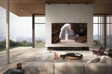 "Smart TV MicroLED Samsung 110"""