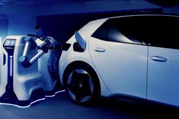 Robot de recharge Volkswagen