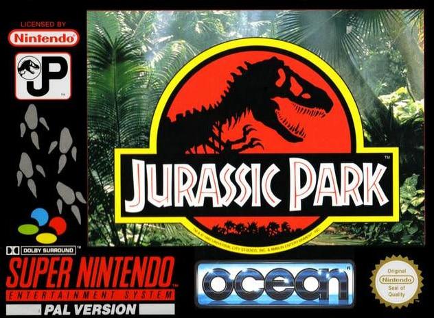 Test Jurassic Park Super Nintendo