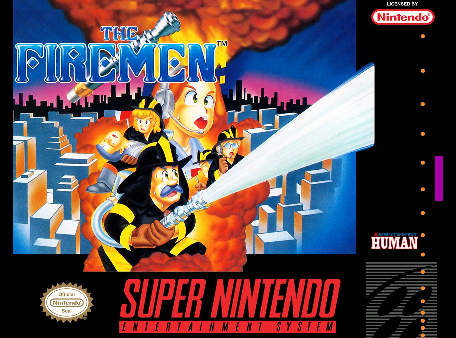 Test The Firemen Super Nintendo
