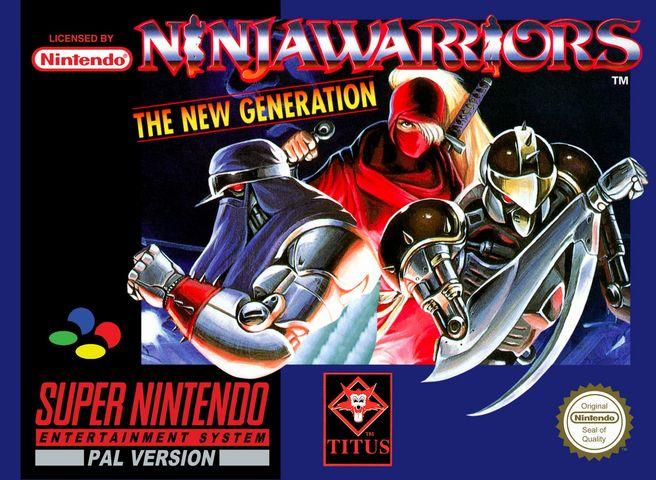 Test Ninja Warriors Super Nintendo