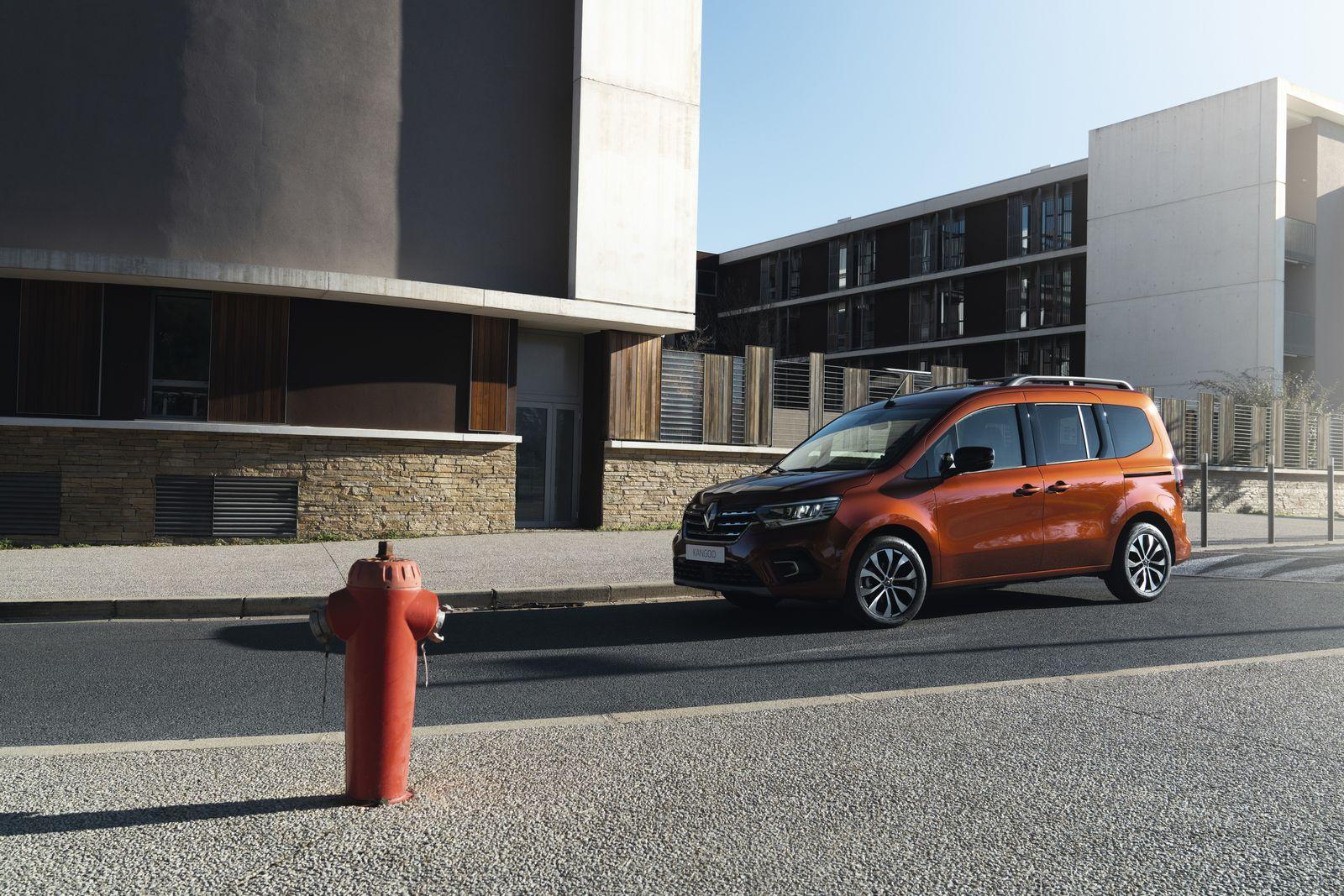 Le nouveau Renault Kangoo à partir de 24 900 euros en France