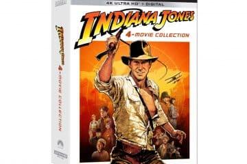 Indiana Jones 4K Blu Ray Atmos