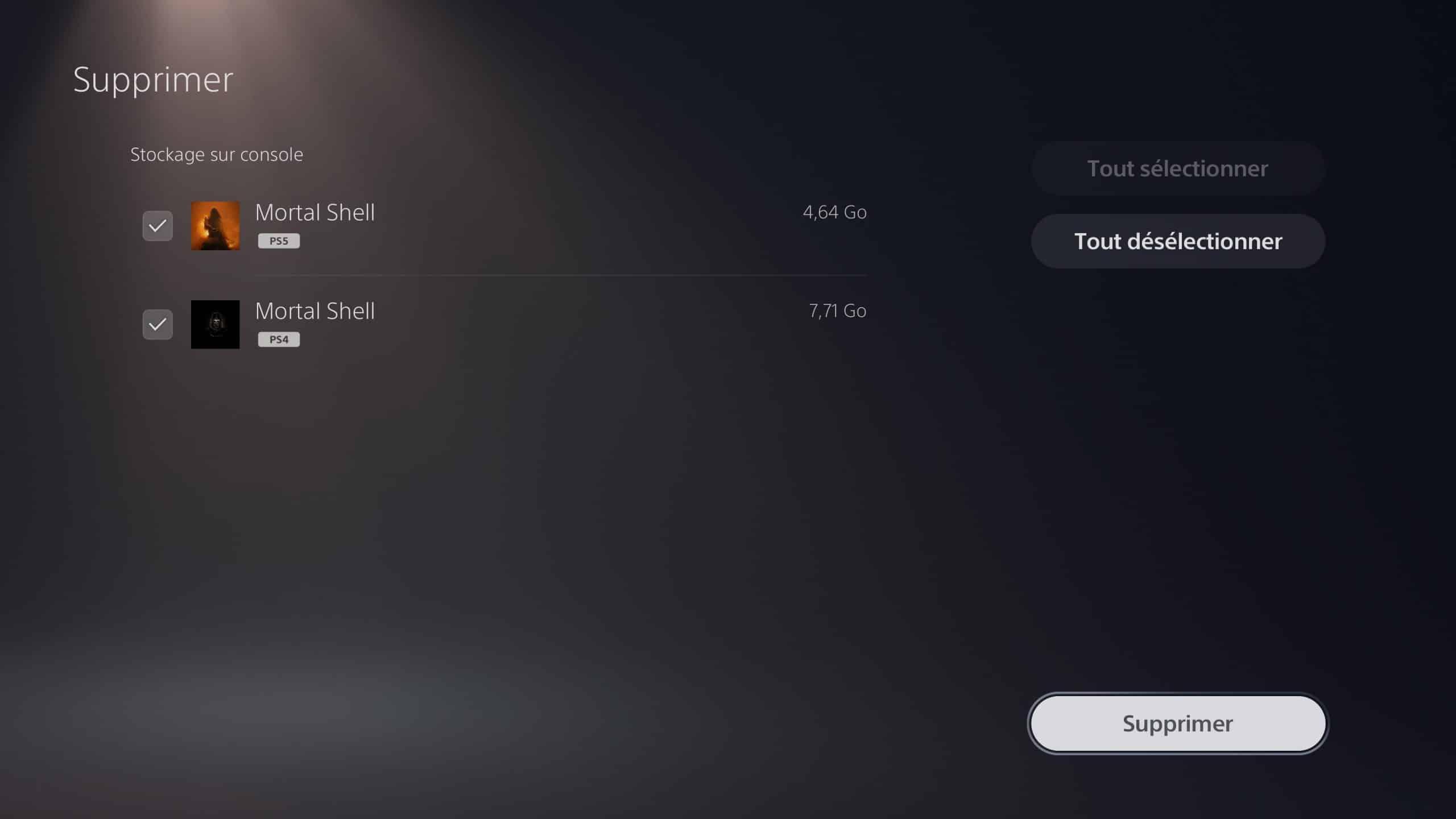 Comment sauver le SSD de sa PS5
