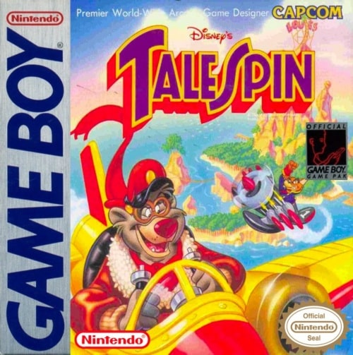 Test Tale Spin Game Boy