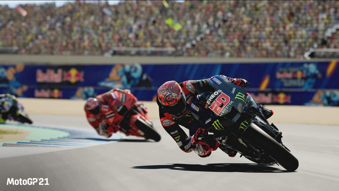 Test Moto GP 2021 PS5