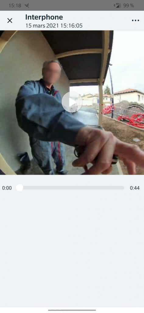 Test Arlo sonnette vidéo sans fil