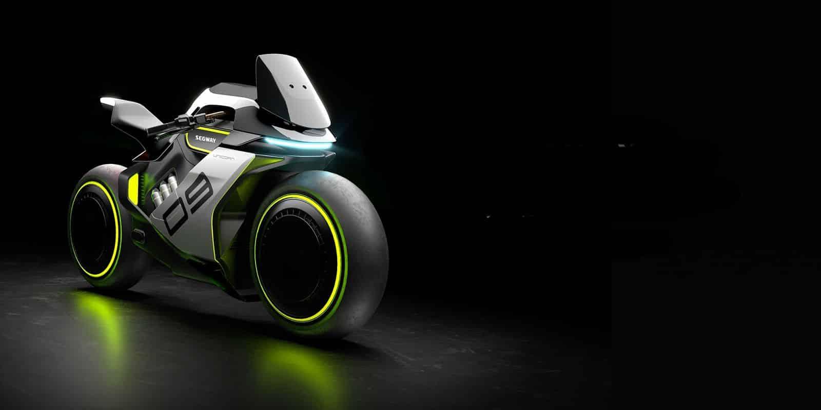 Segway Apex H2 : voici votre future moto à hydrogène (et elle est sublime !)