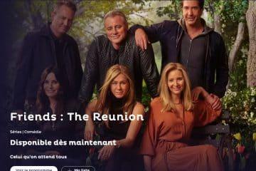 Comment regarder Friends Reunion Salto