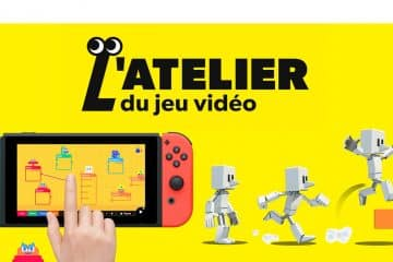 Test Atelier Jeu Video Nintendo Switch