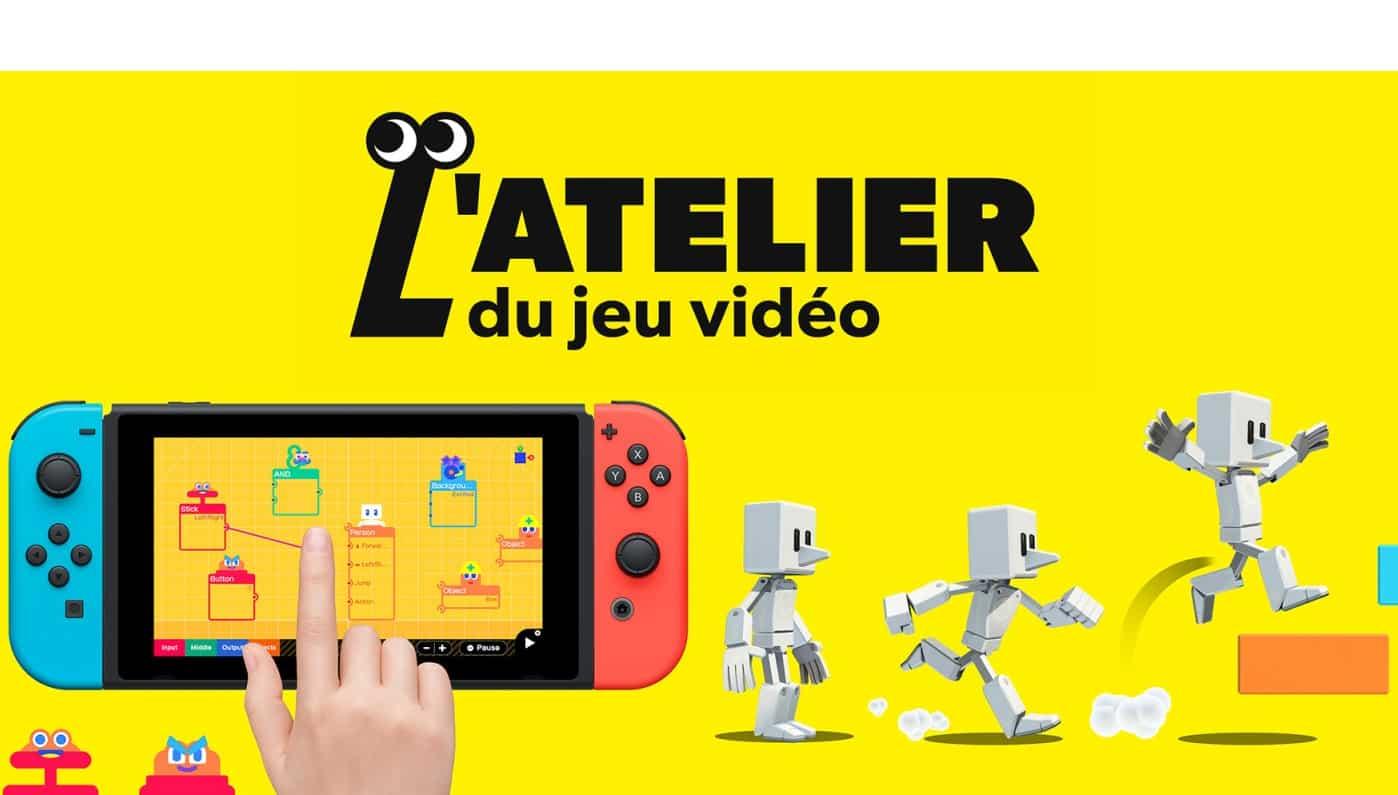 Test Atelier Jeu Video Nintendo Switch