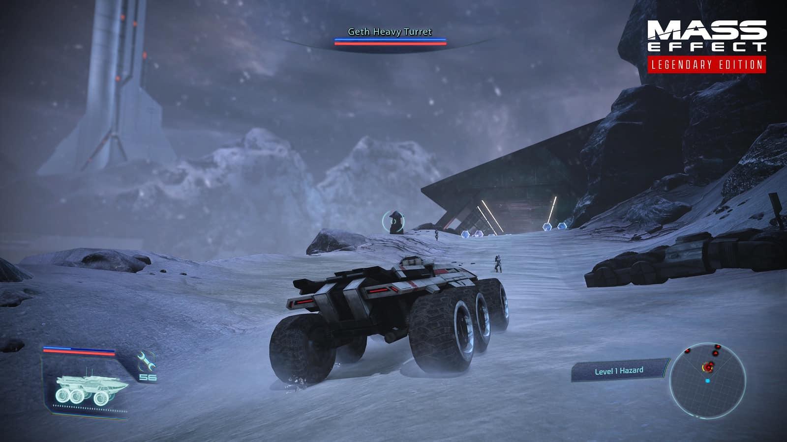 Test Mass Effect