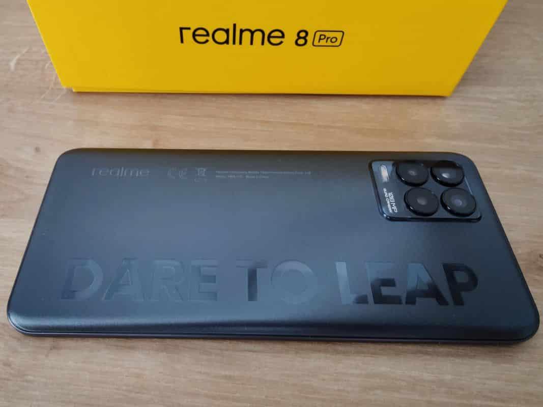 Test Realme 8 Pro