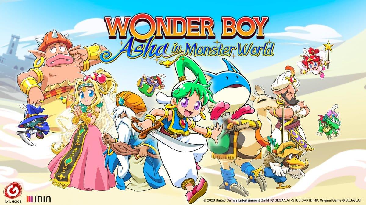 Test Wonder Boy Asha Monster World