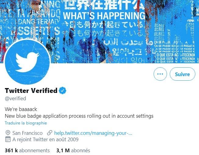 Twitter Certif 2021